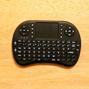 Rii i8 Mini 2.4GHz Wireless Touchpad Keyboard Presentation Remote